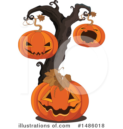 Tree Clipart #1486018 by Pushkin