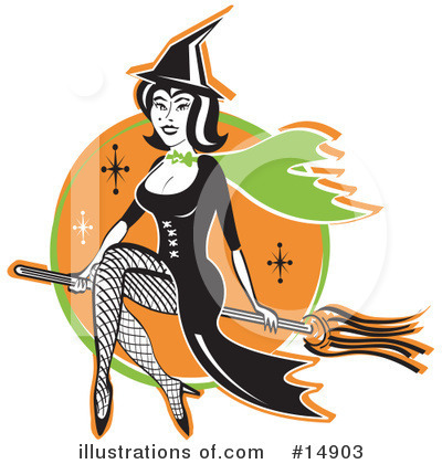 Royalty-Free (RF) Halloween Clipart Illustration by Andy Nortnik - Stock Sample #14903