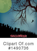 Royalty-Free (RF) Halloween Clipart Illustration #1490736