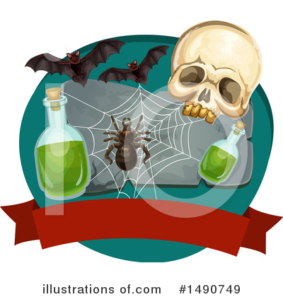 Halloween Clipart #1490749 by Vector Tradition SM
