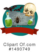Royalty-Free (RF) Halloween Clipart Illustration #1490749