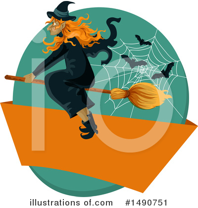 Witch Clipart #1490751 by Vector Tradition SM