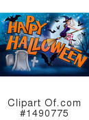 Royalty-Free (RF) Halloween Clipart Illustration #1490775