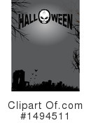 Royalty-Free (RF) Halloween Clipart Illustration #1494511
