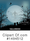 Royalty-Free (RF) Halloween Clipart Illustration #1494512