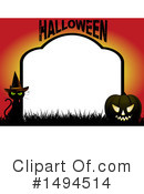Royalty-Free (RF) Halloween Clipart Illustration #1494514
