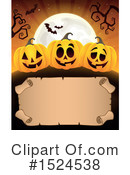 Halloween Clipart #1524538 by visekart