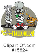 Royalty-Free (RF) Halloween Clipart Illustration #15824