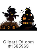 Halloween Clipart #1585963 by visekart