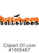 Halloween Clipart #1605467 by Johnny Sajem