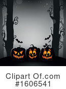 Halloween Clipart #1606541 by visekart