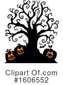 Halloween Clipart #1606552 by visekart