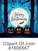 Halloween Clipart #1606567 by visekart