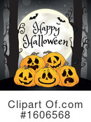 Halloween Clipart #1606568 by visekart