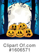 Halloween Clipart #1606571 by visekart