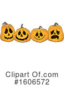 Halloween Clipart #1606572 by visekart