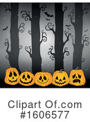 Halloween Clipart #1606577 by visekart