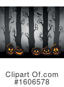 Halloween Clipart #1606578 by visekart