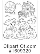 Halloween Clipart #1609320 by visekart