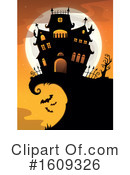 Halloween Clipart #1609326 by visekart