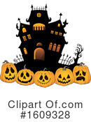 Halloween Clipart #1609328 by visekart