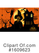 Halloween Clipart #1609623 by dero