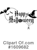 Halloween Clipart #1609682 by dero