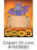 Halloween Clipart #1609880 by visekart