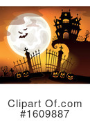 Halloween Clipart #1609887 by visekart