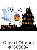 Halloween Clipart #1609894 by visekart