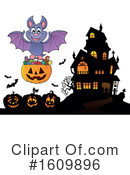 Halloween Clipart #1609896 by visekart