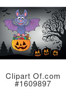 Halloween Clipart #1609897 by visekart