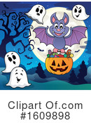 Halloween Clipart #1609898 by visekart
