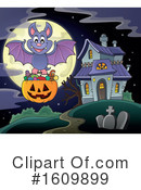 Halloween Clipart #1609899 by visekart