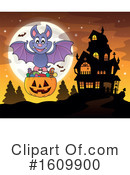 Halloween Clipart #1609900 by visekart