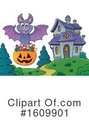 Halloween Clipart #1609901 by visekart