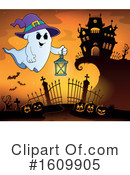 Halloween Clipart #1609905 by visekart