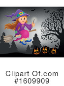 Halloween Clipart #1609909 by visekart