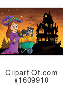 Halloween Clipart #1609910 by visekart