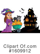 Halloween Clipart #1609912 by visekart