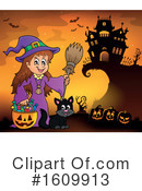 Halloween Clipart #1609913 by visekart