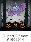 Halloween Clipart #1609914 by visekart