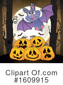 Halloween Clipart #1609915 by visekart
