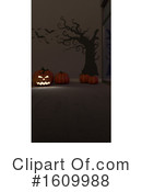 Halloween Clipart #1609988 by KJ Pargeter