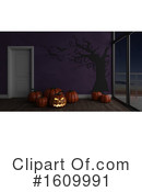 Halloween Clipart #1609991 by KJ Pargeter