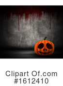 Halloween Clipart #1612410 by KJ Pargeter