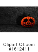 Halloween Clipart #1612411 by KJ Pargeter