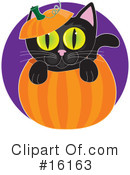 Royalty-Free (RF) Halloween Clipart Illustration #16163