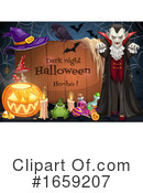Halloween Clipart #1659207 by Vector Tradition SM