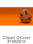 Halloween Clipart #1662916 by KJ Pargeter